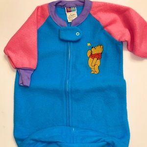 Winnie the Pooh newborn baby sleep sack